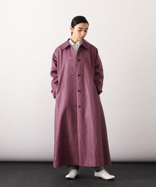 [ADIEU TRISTESSE] 【LOISIR】Aラインステンカラーコート