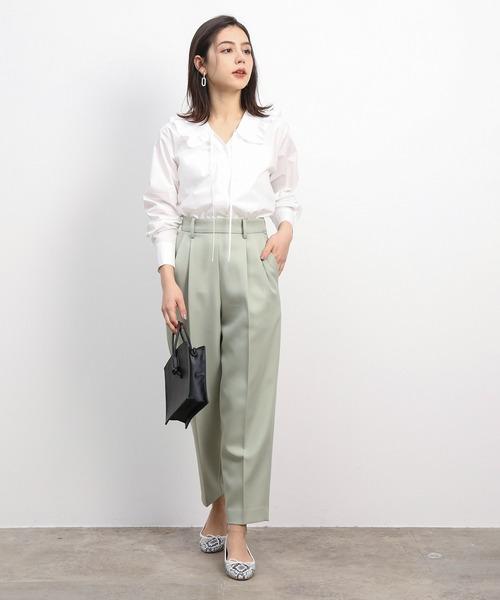 【金沢】6月に最適な服装:パンツコーデ5