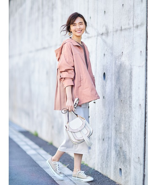 [tocco closet] ステッチデザインラップタイトスカート