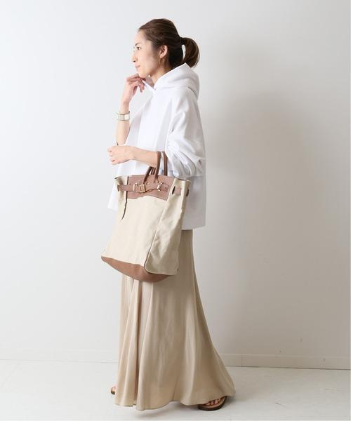 6月の軽井沢:切り替えスカートの服装