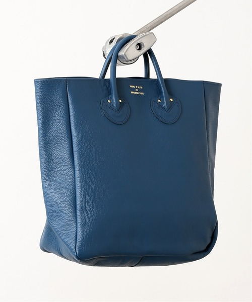 [EDIFICE] 【YOUNG & OLSEN / ヤング アンド オルセン】 別注 EMBOSSED LEATHER TOTE E