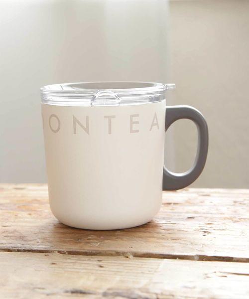 [Afternoon Tea LIVING] ロゴワークスフタ付きステンレスマグカップ