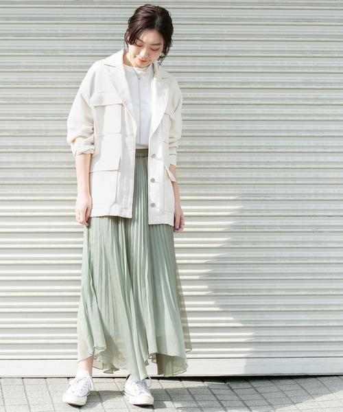 [KBF] KBF+ シアープリーツスカート