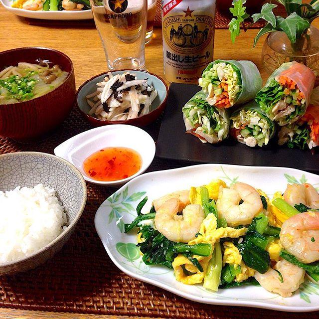 牛丼 副菜4