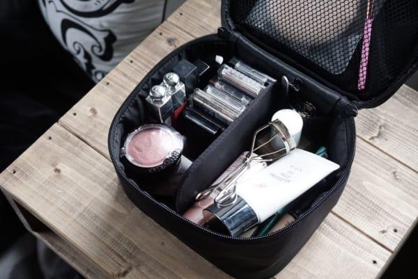 メイクボックスを使った収納術