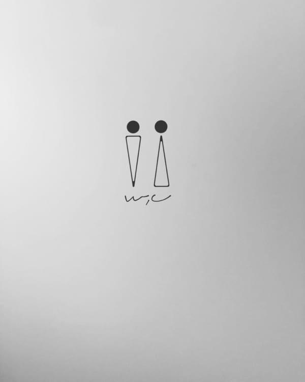 イラストタイプのルームステッカー