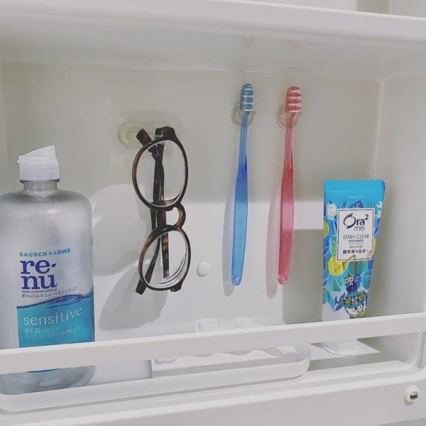 洗面鏡裏 収納6