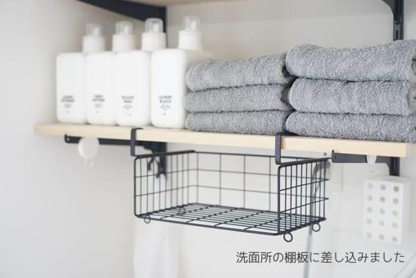 洗濯機上のスペース 収納8