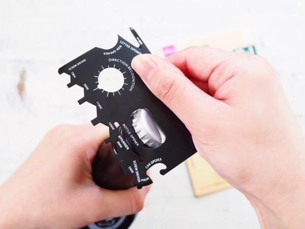 マルチツールカード型(ダイソー)2