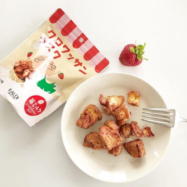 クロワッサンラスク 苺ミルク味