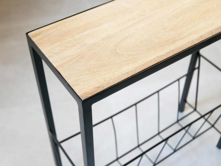 「マガジンラック」×「サイドテーブル」8
