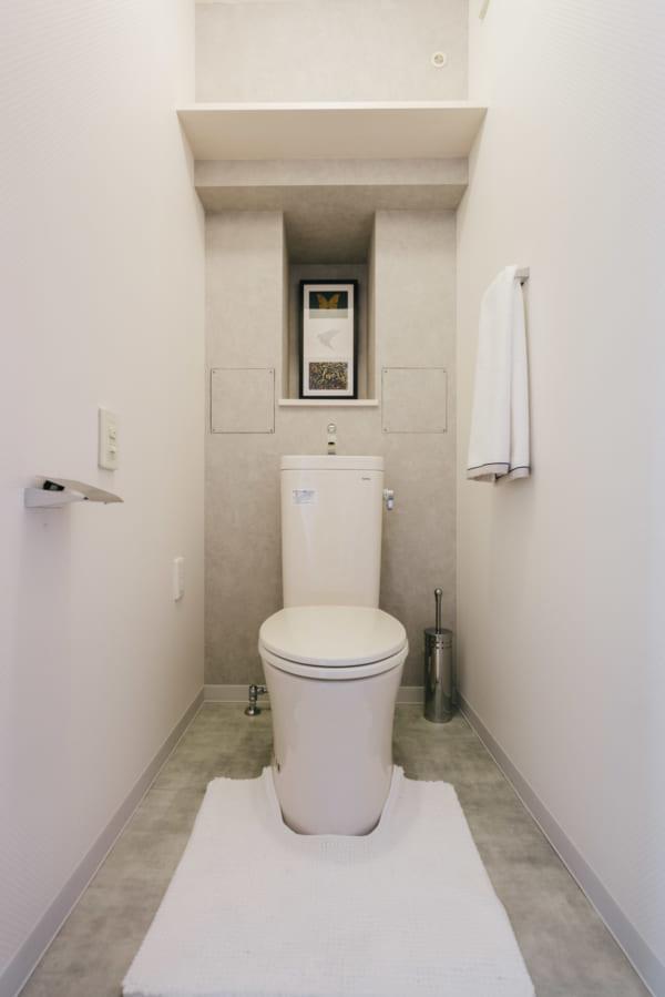 時尚簡約的衛浴空間