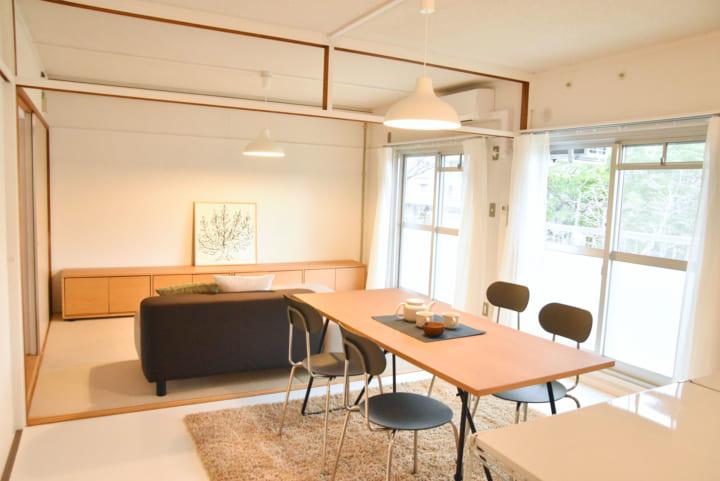 不同廳房,選用不同材質的地板