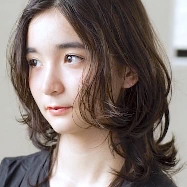 大人の艶髪ミディアムレイヤー ミズ 30代 40代 2020 髪