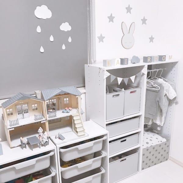 子供部屋 収納アイデア2