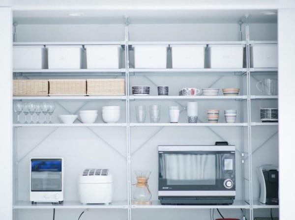 キッチンの見せる収納アイデア《食器》