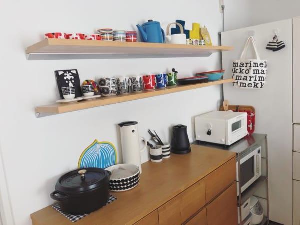 キッチンの見せる収納アイデア《食器》7