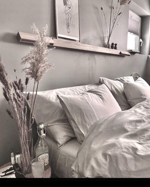 海外のベッドルームインテリア《小物の使い方》3