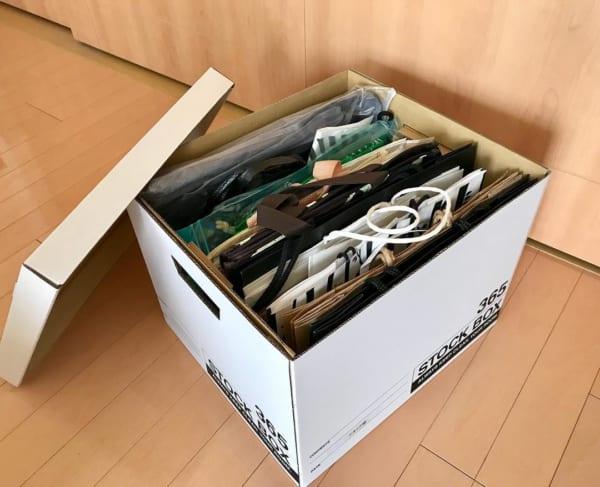 「蓋付きボックス」を使った収納術