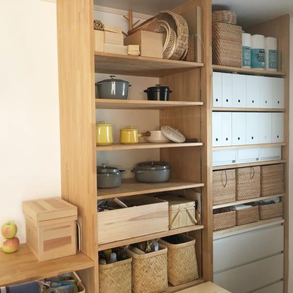 魅せる収納キッチン