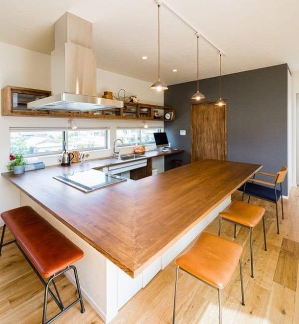 暮らしやすい住まいの工夫:キッチン2