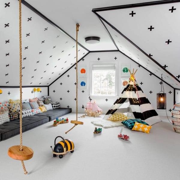 秘密基地のような子供部屋