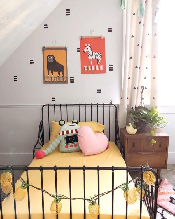 楽しい夢が見れそうな子供部屋