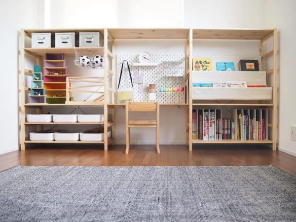 子供部屋 収納アイデア6