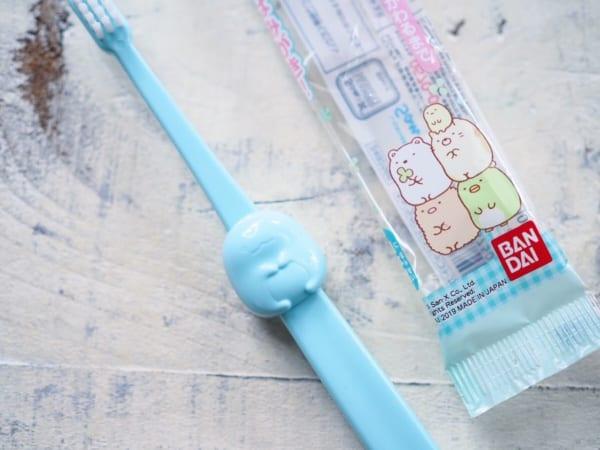 すみっコぐらしの歯ブラシ(セリア)
