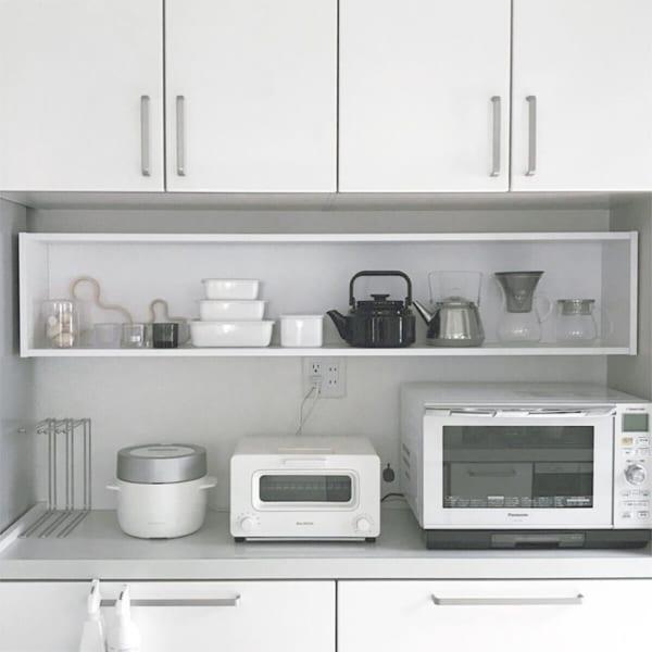キッチンの見せる収納アイデア《調理器具》5