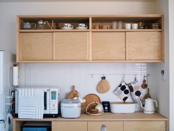 キッチンの見せる収納アイデア《食器》3