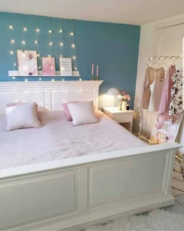 海外のベッドルームインテリア《小物の使い方》10