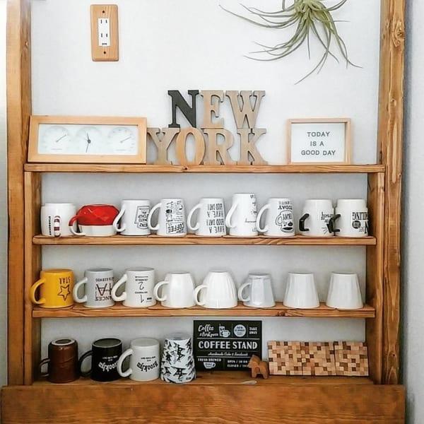 カフェ風一人暮らしインテリア《DIYアイデア》10