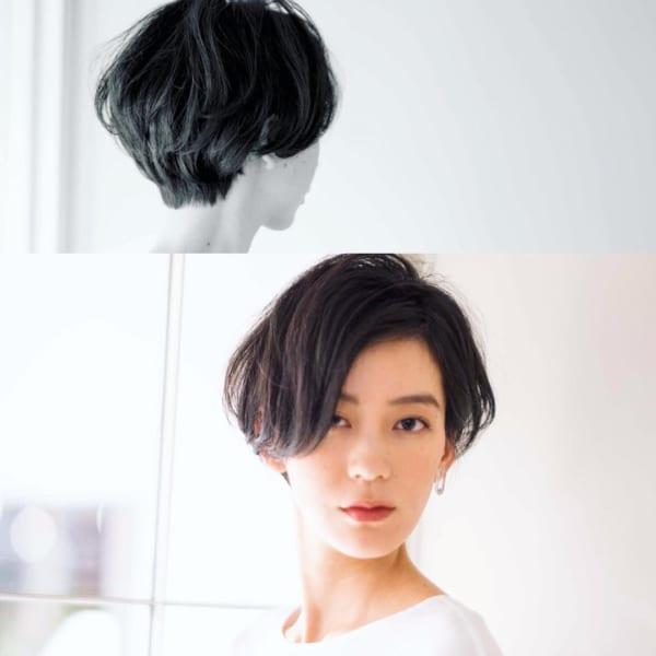 知的で女性らしいヘアスタイル