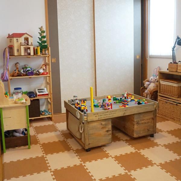 子供部屋にぴったりなプレイテーブル