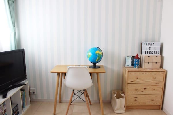 シンプル&ナチュラル家具の子ども部屋