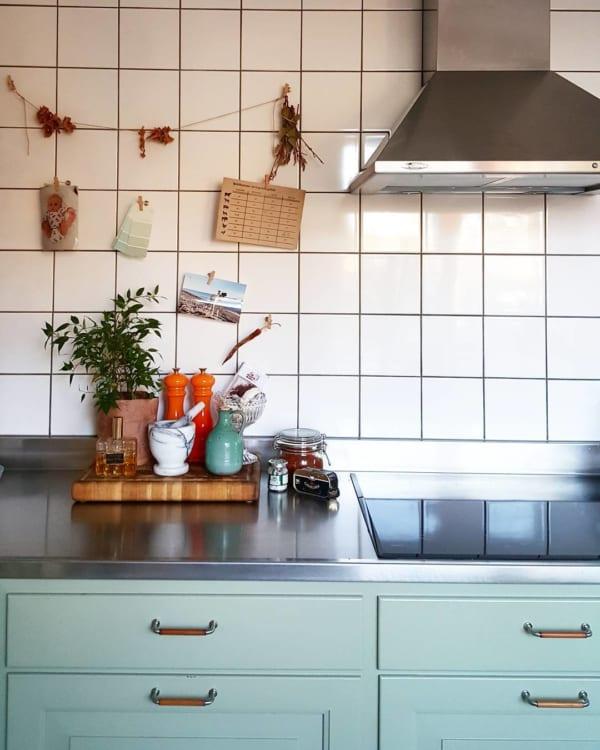 キッチンの見せる収納アイデア《調味料》7