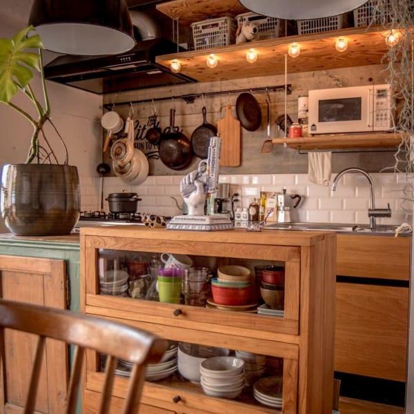キッチンの見せる収納アイデア《食器》6