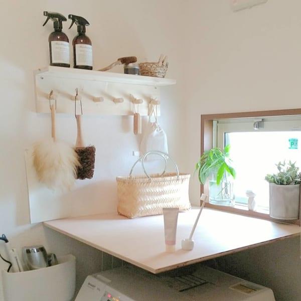 DIYで洗面所の収納力アップ