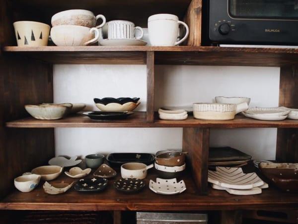 キッチンの見せる収納アイデア《食器》4