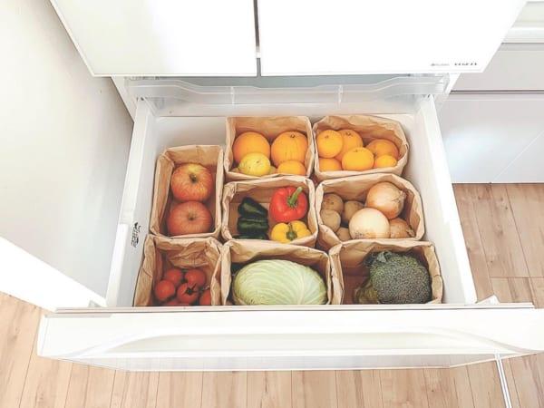 セリア 冷蔵庫収納5