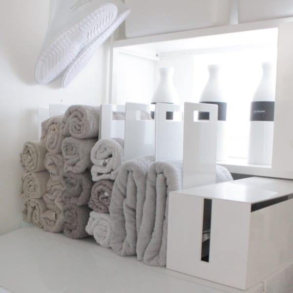 洗濯機上のスペース 収納6