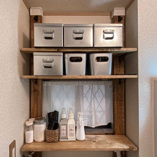 洗濯機上のスペース 収納7