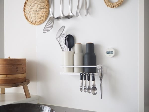 キッチンの見せる収納アイデア《調味料》
