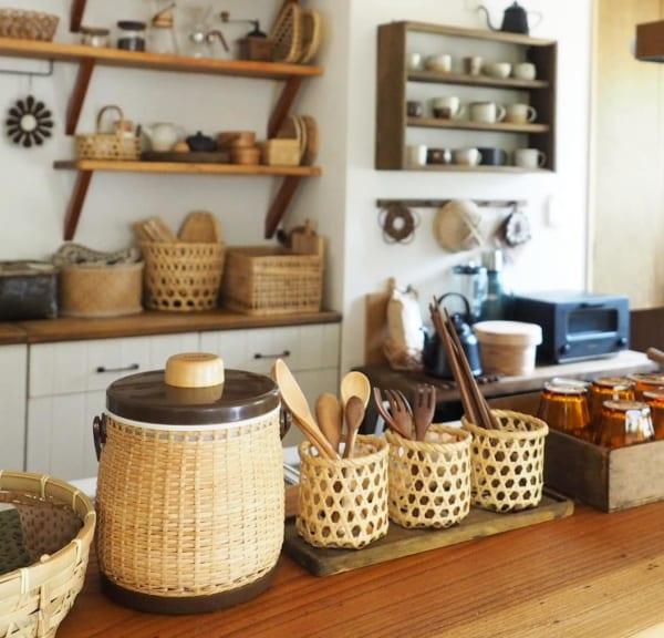 キッチンの見せる収納アイデア《食器》5
