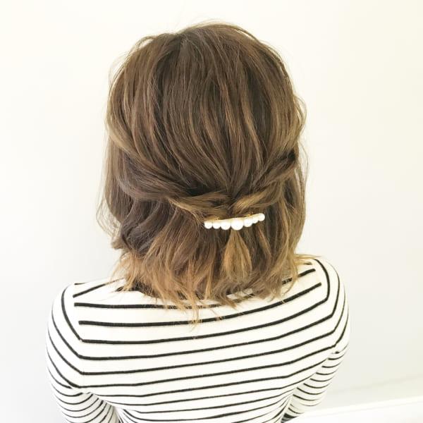 オフィスカジュアルのヘアスタイル12