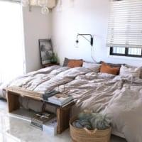 おしゃれな寝室に憧れる♡シンプルで素敵なベッドルームインテリア実例