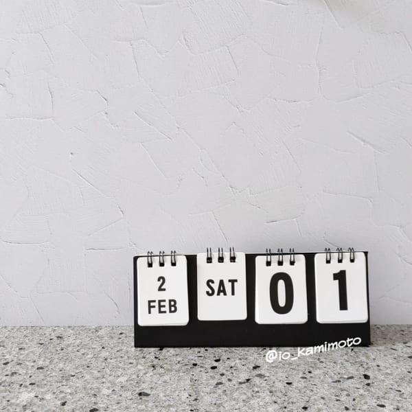 【セリア】半永久的に使えるカレンダー