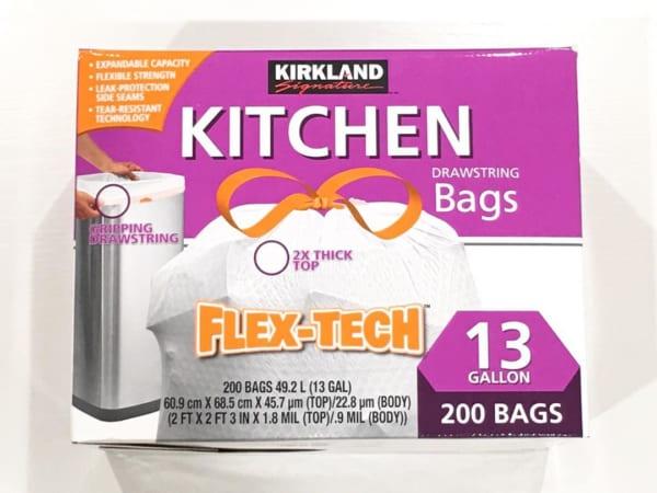 便利な紐付きでおすすめのキッチンゴミ袋