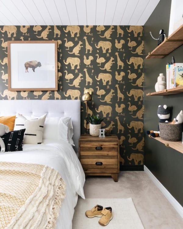 子供らしい可愛い寝室